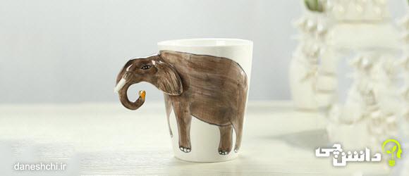 انشا فیل و فنجون