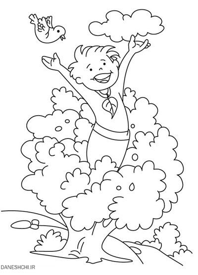 نقاشی درباره ی هوای پاک