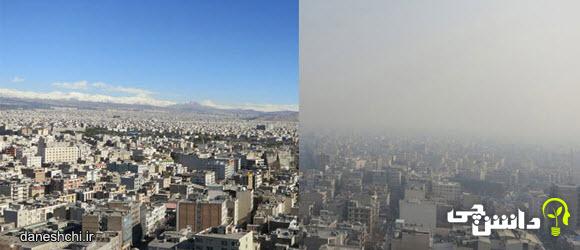 هوای پاک و آلوده