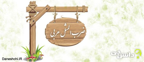 ضرب المثل های جالب عربی با معنی فارسی